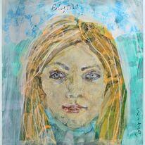 portrait head: Blythe