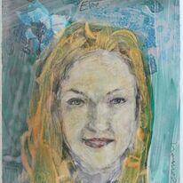portrait head: Eve