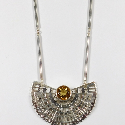 Necklace with Citrine