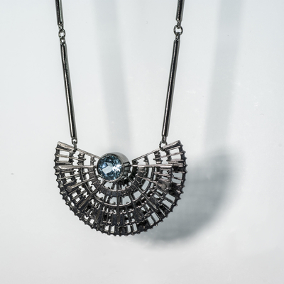 Necklace With Topaz