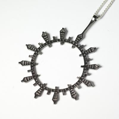 Black Rhodium pendant