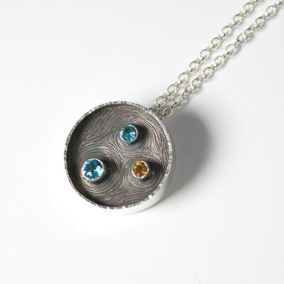 oxidised pendant