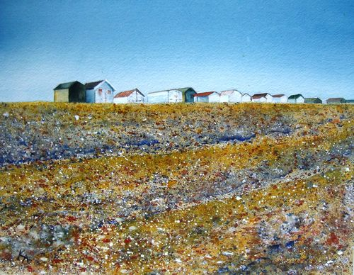 Summer Beach Huts