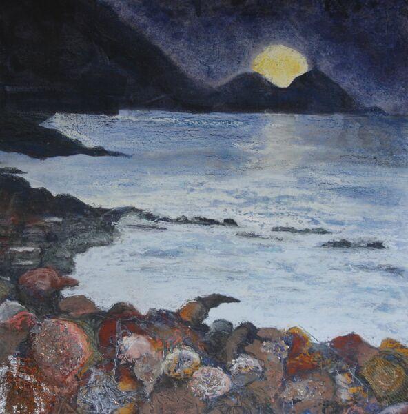 Moon over Water II