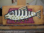 fish and rug