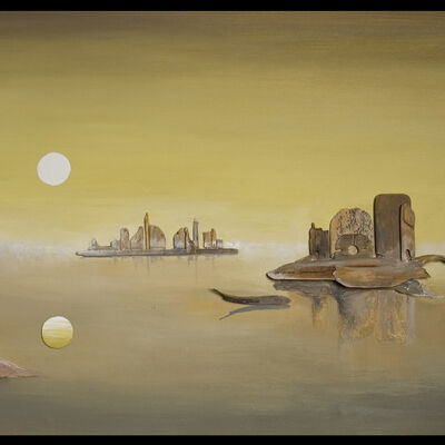 Dawn breaks on Venice Lagoon