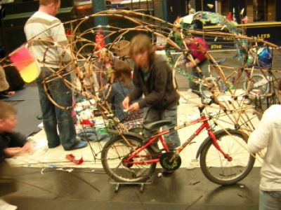 art bike workshop
