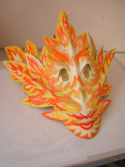 mask for fire dragon