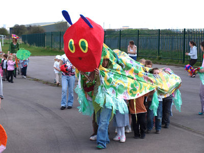 hungry caterpillar at Foredyke primary