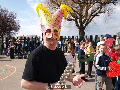 April Fools mask