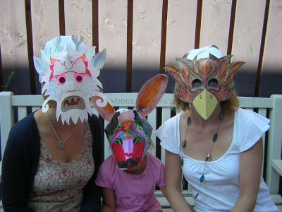 family mask workshop