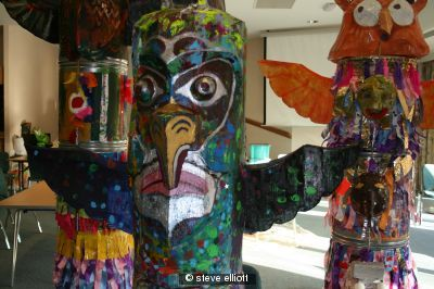 Totempoles- autistic group workshop