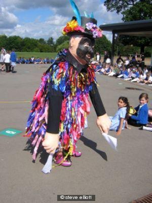 Jolly Morris Man dances