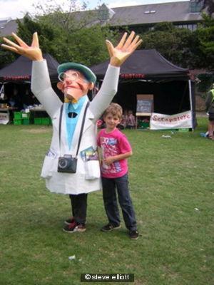 Mr Smiley at Hull Carnival