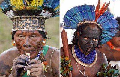Amazonian tribal costume