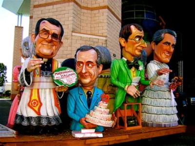 Viareggio figures