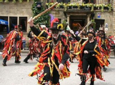 Powderkegs Border Morris costume