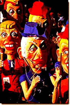 Nice Carnival bigheads