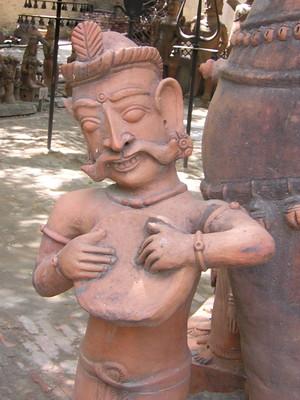 Indian terracotta sculpture