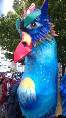 Simurgh, Persian mythological bird