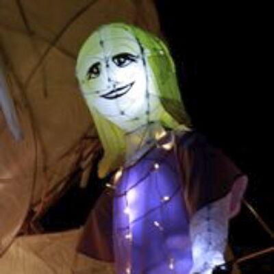 Sophie lantern puppet