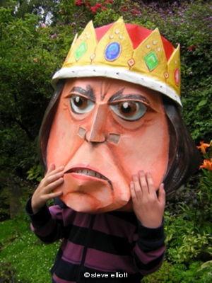 Tinpot Tyrant bighead detail