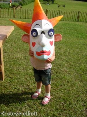 Startled Clown