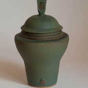 Lotus Lidded Jar