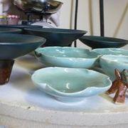 Celadon Leaf Porcelain