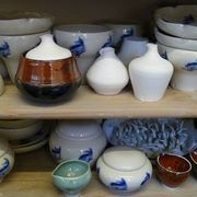 Fired Glazed ware and Bisc ware