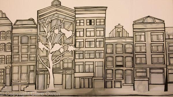 Dutch Houses (Black and White)