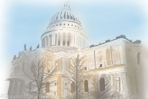 St Paul's Cathedral (Colour)