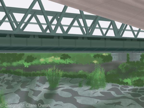 Bridge over the Traun