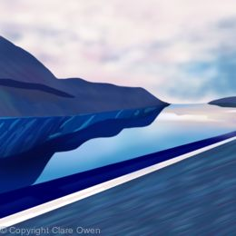 Blue Fjord
