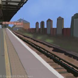 Twickenham Station, Platform 5