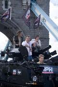 Top Gear team cross Tower Bridge in a tank, BBC
