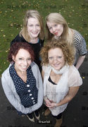 Four Sophies - If your name is Sophie you are most likely to succeed. Shot for BBC Ariel