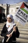 Radeya Saud, age 15, peaceful protestor
