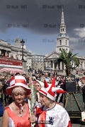 St Georges Day, Trafalgar Square, 2008