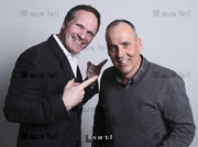 Nic Cooper (CEO Sledge) and John Worthington (O2 Head of Events). Photographed for Haymarket publications