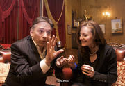 Simon Drake, magician for the Sunday Express