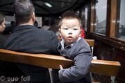 Kid on Star Ferry