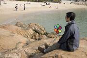 Hung Shing Yey beach, Lamma