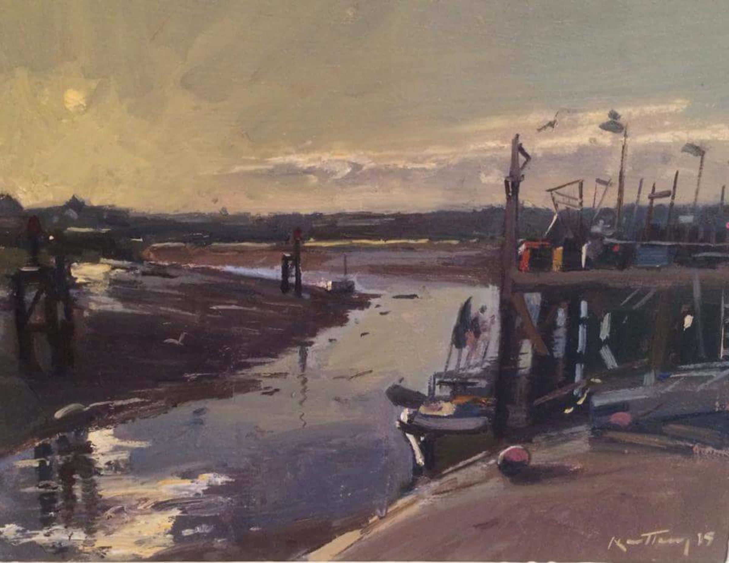 Sunset Rye Harbour