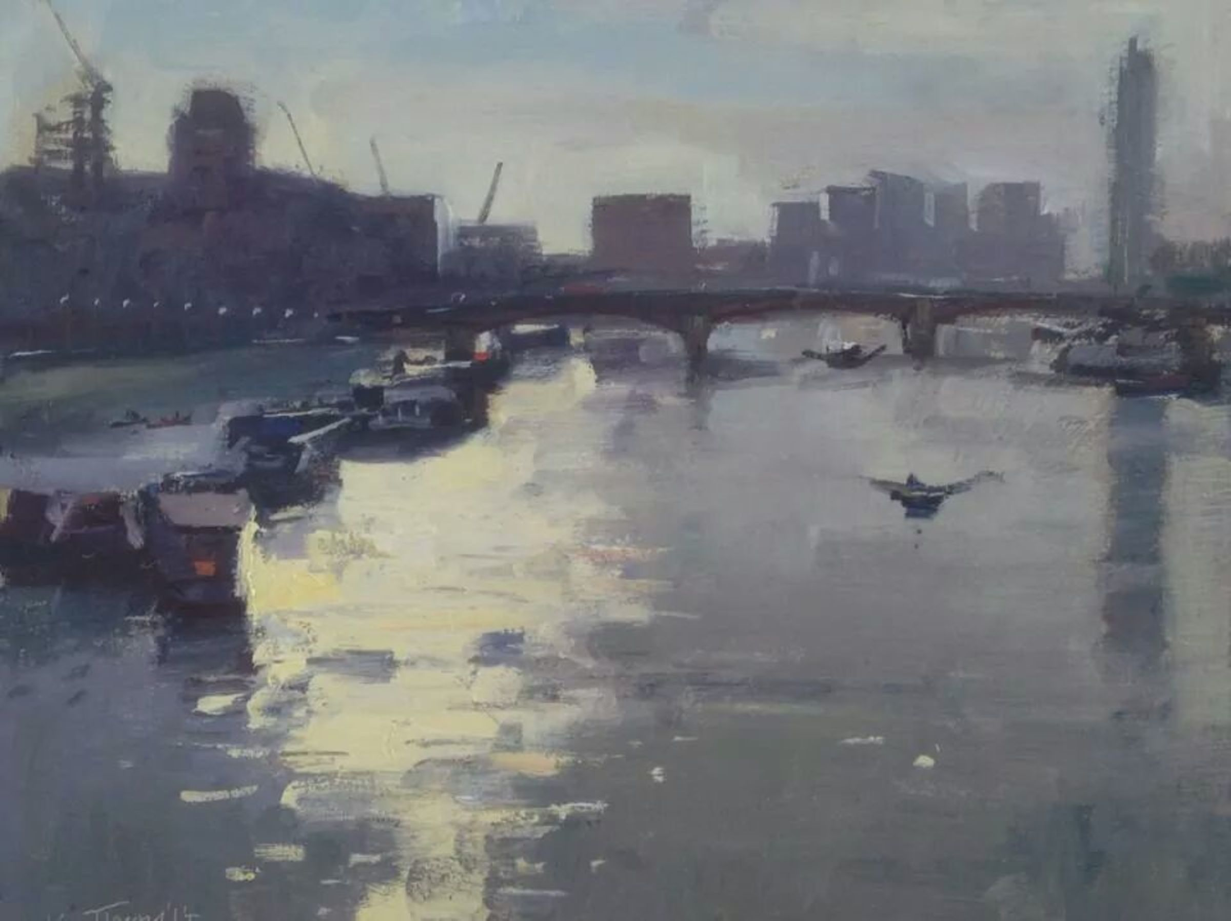 Afternoon light,westminster bridge