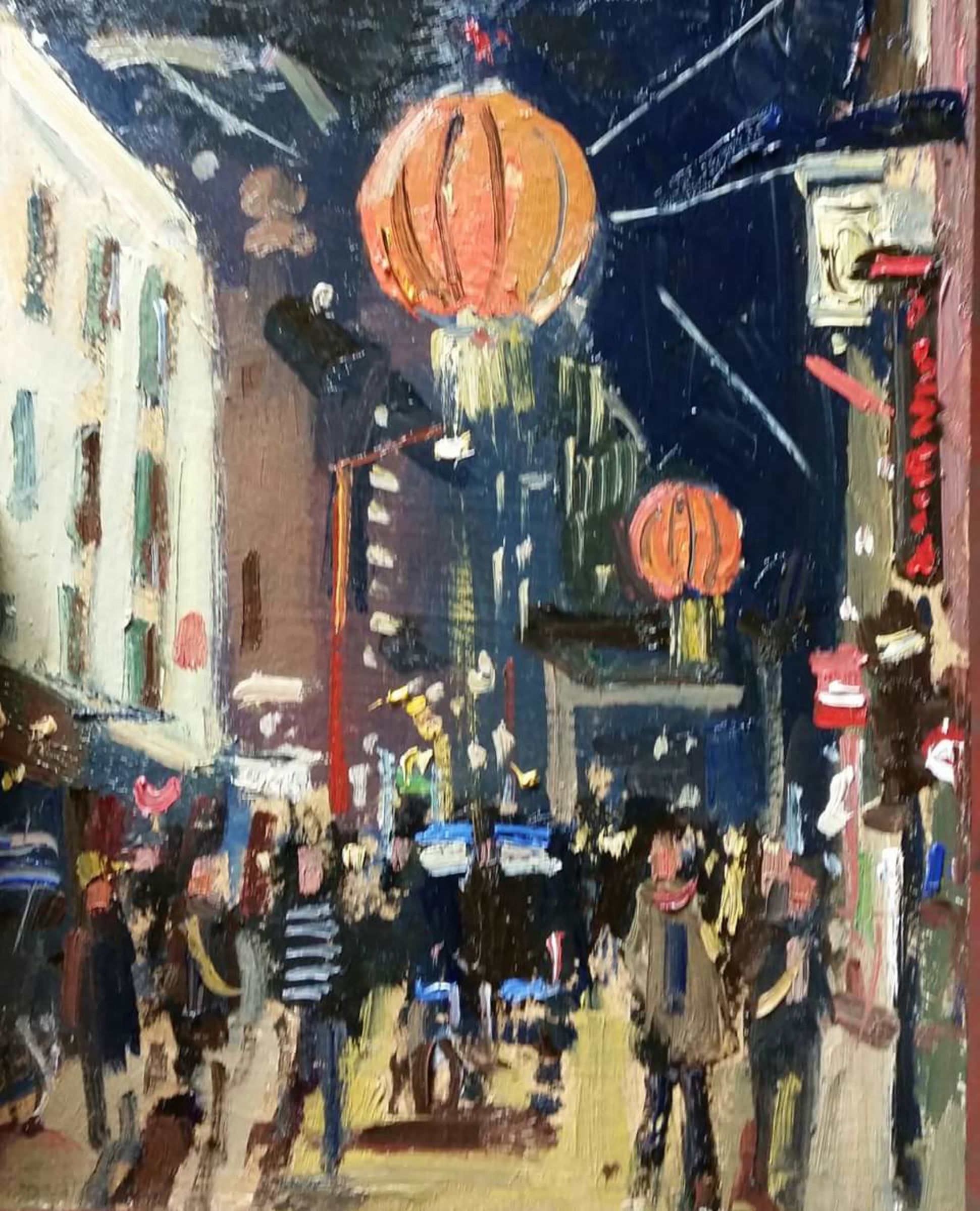 China Town nocturne