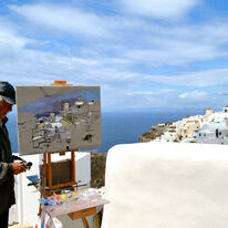 Ken Howard Ra in Santorini