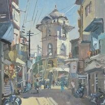 The clock tower Udaipur