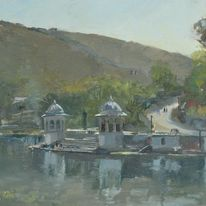 Across the boating Lake, Udaipur