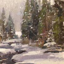 Snow in the Rockies,Colorado